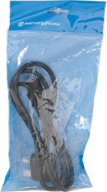 EURO IEC Lead - 1.5m, Bopp bag