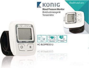 KÖNIG - Digital blodtryksmåler - Håndledstype