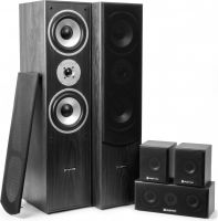 Komplet Surround Sound Højttalersystem 5.0 / 335W rms, sort