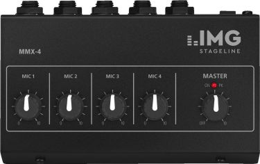 Miniature microphone mixer MMX-4