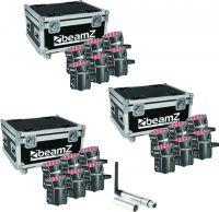 BeamZ BBP60 Uplight lamper - Pakke med 3 sæt
