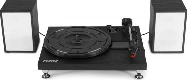 RP155B Record Player Set Black