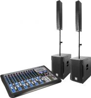 Power Dynamics PD815 Aktivt Array System 900w inkl. mixer