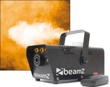 BeamZ S700-LED Røgmaskine 700W med indbygget flamme Lyseffekt - Super fed effekt.