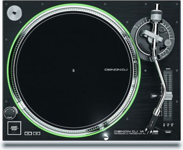 Denon DJ VL12 Prime, Professional Direct Drive Turntable with true