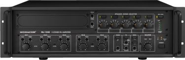 5-zone mono PA mixing amplifiers PA-1240