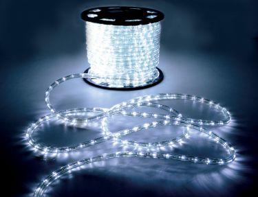 LED Rope Light, White, 50m
