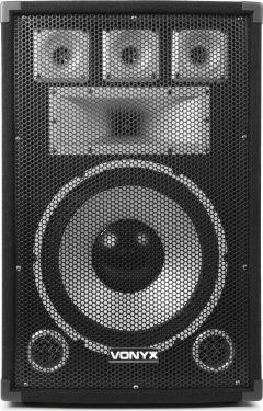 "VONYX TX12 3-vejs Diskohøjtaler - 12"" bas 350W"