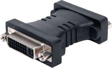 Valueline Dvi-Mellemstik DVI-I 24 + 5-Pin Hun - DVI-I 24 + 5-Pin Hun Sort, VC-008