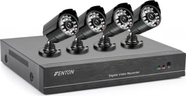 All in one HD CCTV-Systeem 4 CAMS/1TB HDD