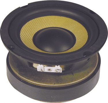"5.25"" Woofer with Aramid fibre cone"