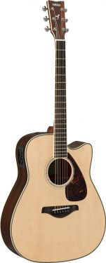 Yamaha FGX830C FOLK GUITAR (NATURAL)