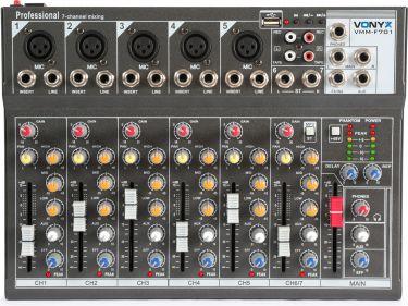 VMM-F701 7-Channel Music Mixer