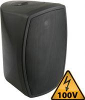 """Vægmonterings-højtaler ISPT5B 100V / 8 Ohm / 5"""" 120W, sort"""