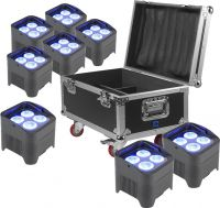 BeamZ BBP94 8Stk. Inkl Flightcase - Pakkesæt