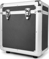"""RC80 12"""" Flightcase til plader / Vinyl Record Case, Sort"""