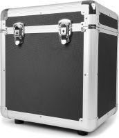 "RC100 12"" Flightcase til plader / Vinyl Record Case, Sort"