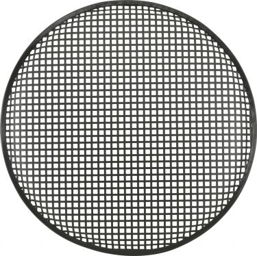 "Metal speaker grille, 46 cm (18"")"