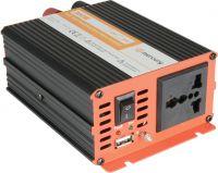 """Inverter """"soft start"""" fra 12V til 230V / 300W, modificeret sinus (kan ikke bruges til bærbar pc)"""