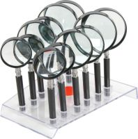 12 piece magnifier set with stand