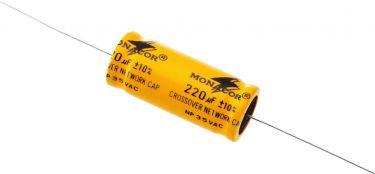 Bipolar Electrolytic Capacitors 1.5-220µF LSC-2200NP
