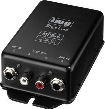 Mikrofonforforsterker MPR-6