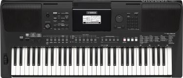 Yamaha PSR-E463 DIGITAL KEYBOARD (BLACK)