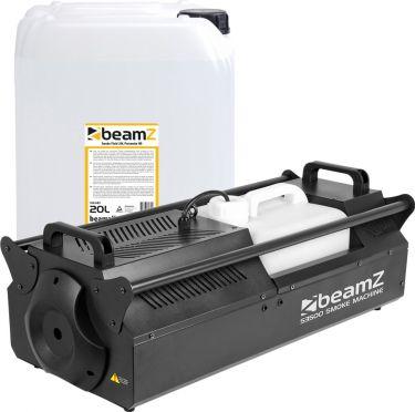 BeamZ S3500 Smoke Machine DMX - Pakkesæt