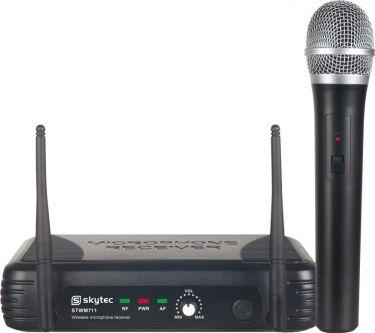 Trådløst Mikrofonsæt STWM711 med 1 Håndhold mikrofon / rækkevidde 50m