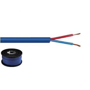 Højttalerkabel 2x1.5 mm2 100m SPC-515/BL