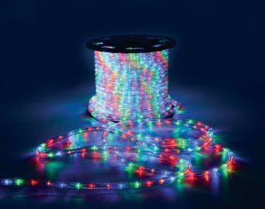 LED Rope Light, Multicolour, 50m
