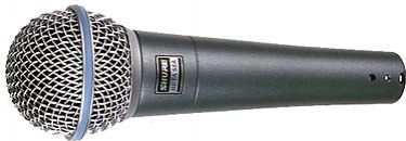 Shure BETA 58A Professional Vocal Microphone