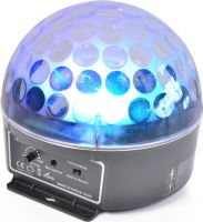 Magic Jelly DJ Ball / Musikstyret LED lyseffekt (3x 3W RGB)