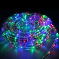 """Lyskæde """"kraftig vandslange design"""" multicolor, 5m"""