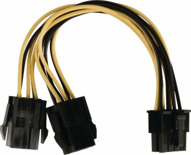 Valueline Internal Power Cable EPS 8-Pin Male - 2x PCI Express Female 0.15 m, VLCP74415V015