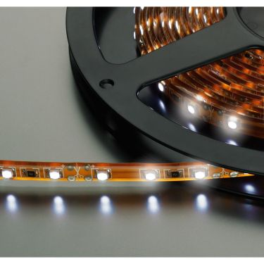 LED-strip hvid 12V 5m LEDS-5MP/WS