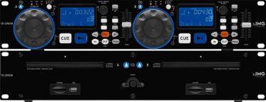 CD-avspiller dobbelt m/USB CD-230USB