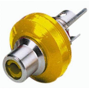 Phonobøsning gul T-706NI/GE