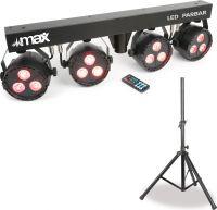 LED PARBAR 4-Way 3x 4-i-1 RGBW