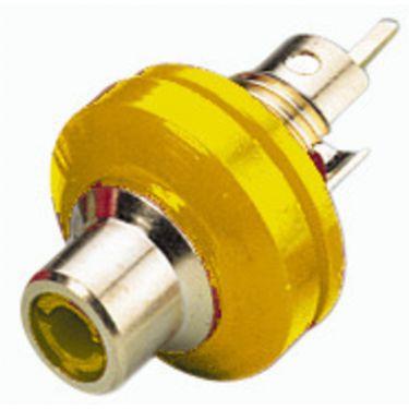 Phonobøsning gul T-706GI/GE