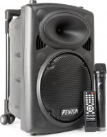 "FPS10 Portable Sound System 10"" Bluetooth/MP3/USB/SD/VHF"