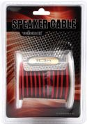 Speaker Leads, LOUDSPEAKER WIRE - RED/BLACK- 2 x 1.50mm² - 10m K/LOW2150/10