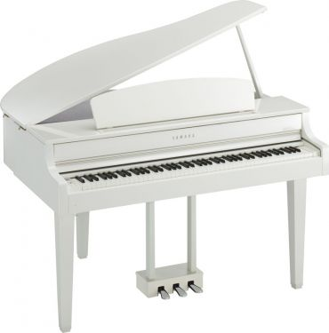 Yamaha CLP-665GPWH DIGITAL PIANO (POLISHED WHITE)