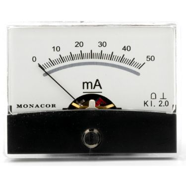 Panelmeter PM-2/50MA