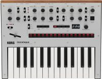 Korg Monologue Silver Analog Synthesizer, Analog synthesizer with a