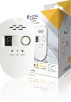 Gasdetektor m. alarm - Til 230Vac