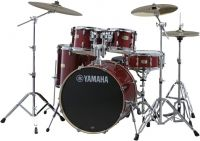 Yamaha SBP0F5CR STAGE CUSTOM BIRCH (CRANBERRY RED + HW780)