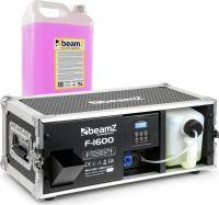 BeamZ F1600 Pro Faze inkl. 5L. Long-Life Rødvæske - Pakkesæt
