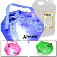 BeamZ B500 LED inkl 5L. væske - Pakkesæt