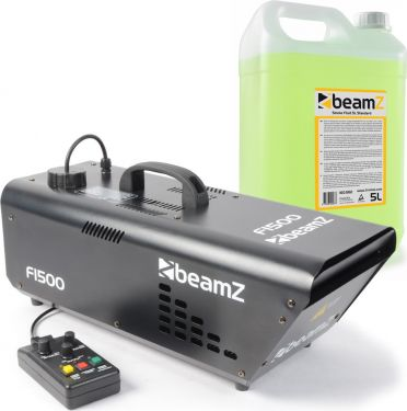BeamZ F1500 Fazer Inkl. 5L. Standard Røgvæske - Pakkesæt